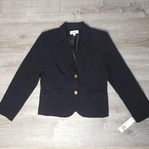 Calvin Klein NWT size 14 black blazer